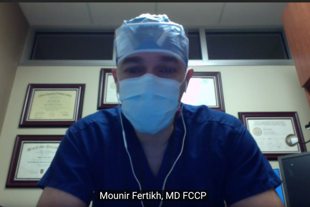 A short video from an Algerian Interventionnal pulmonologist I know in US about Covid19 to the Algerian people